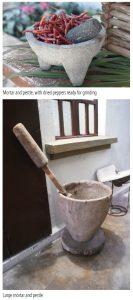 di mortar and pestle