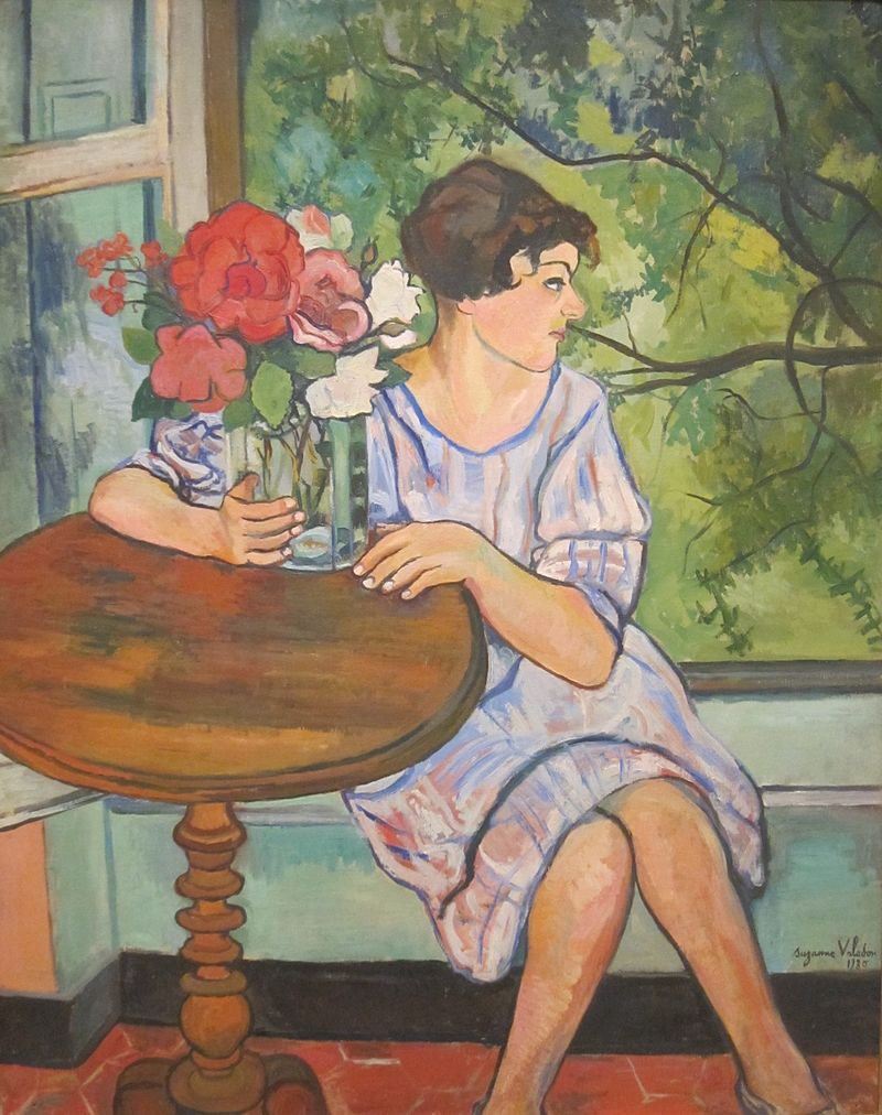 Young Girl in Front of a Window, 1930
