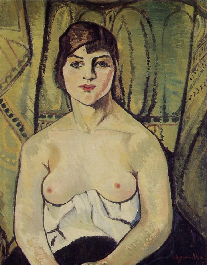 Portrait of a Woman, 1917