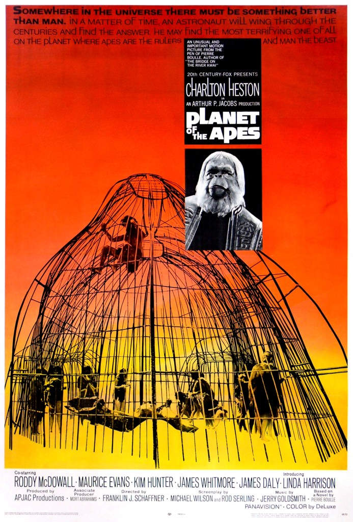 Planet of the Apes 1968 Movie