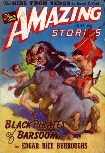Amazing Stories - Barsoom