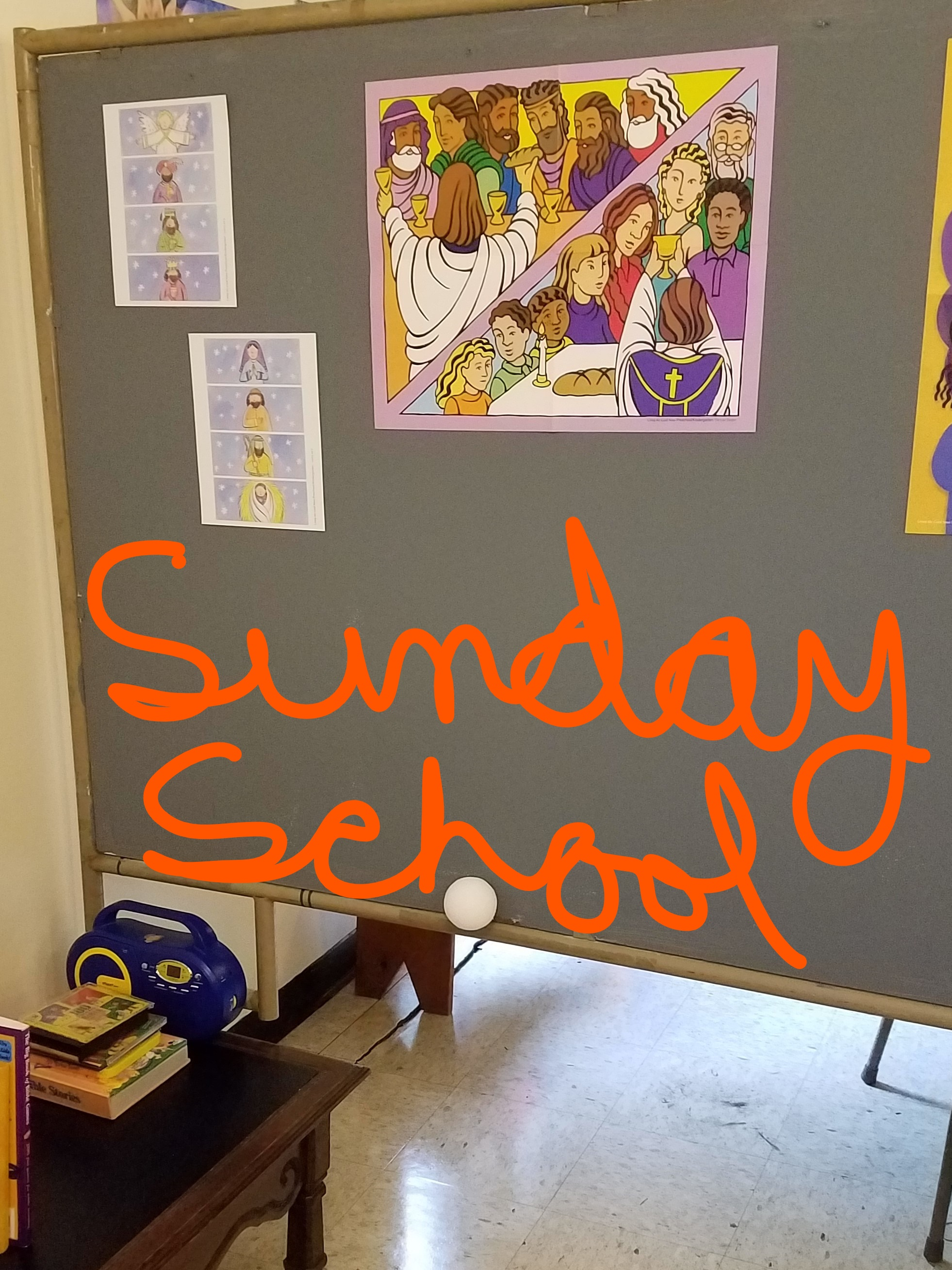 Sunday School St Elizabeth S Episcopal Church Of Rhode
