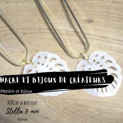 blog article nacre et bijoux