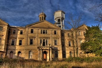 Bracebridge Heath Lunatic Asylum, deserted