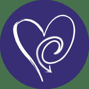 Stella Fosse Logo a stylized heart in a circle