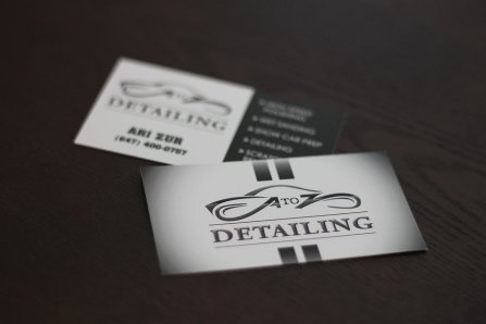 A to Z Detailing Branding and Business Card Design