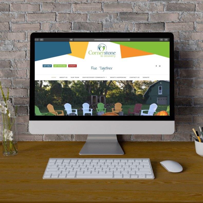 Cornerstone to Recovery - Branding-Web Design - Newmarket