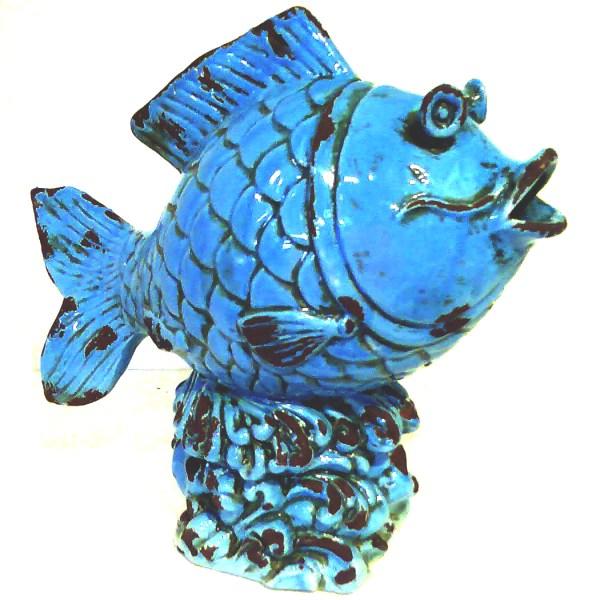 fish, ceramic fish, table ornmanet