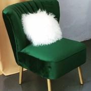 green velvet chair, ivy green chair emerald green chair