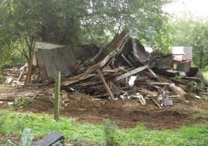 Demolition pile