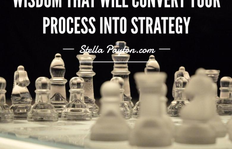 Process into strategy