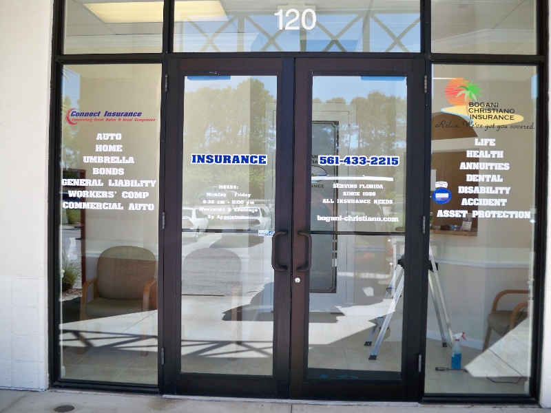 Window Graphics Amp Lettering Stellar Signs Amp Graphics
