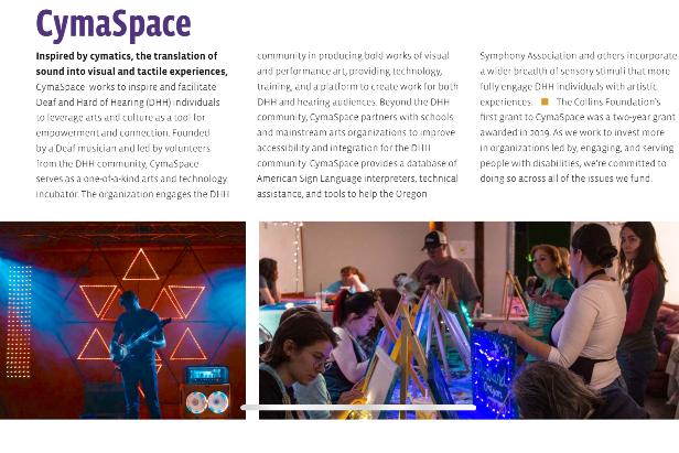 CymaSpace Access Program