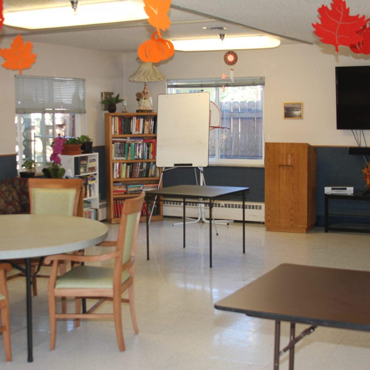 Laramie Care Center Activity Room