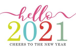 Happy 2021 from your Stampin' Up! Demonstrator!