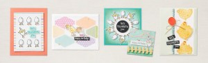It's your clucky day – two new chick bundles released by Stampin' Up!