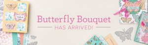 NEW Stampin' Up! Butterfly Bouquet products released today!