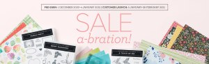 The three parts of Sale-A-Bration: shop, super shop, and save $ by joining the club!