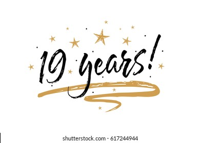Happy 19th stampiversary to me!