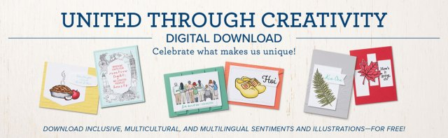 United Through Creativity FREE digital download from Stampin' Up!