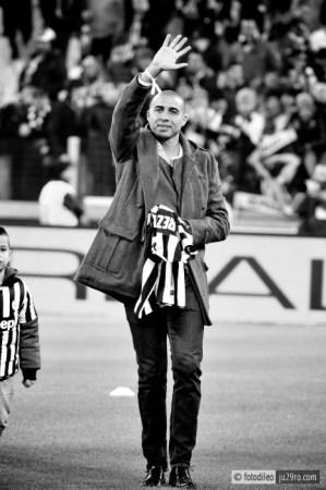 © Francesco Di Leonforte Juventus Stadium Trezeguet prima di Juventus - Roma