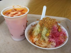 Carrot Juice and Halo-Halo substitute