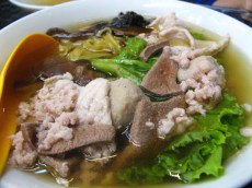 Orchard Road: hawker centre food