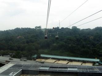 Sentosa Island: Cable Car