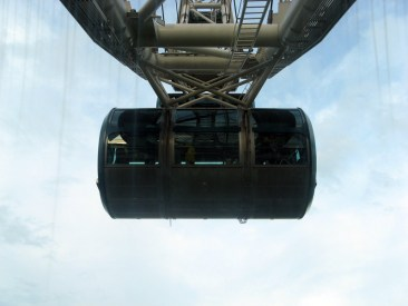 Singapore Flyer: carriage