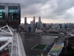 Singapore Flyer: Marina view