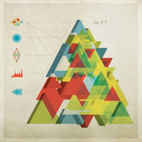 Complic Triangle - Nonsensical Infographics by Chad Hagen