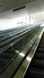 Subway: escalators