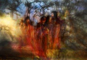 Screen: Macbeth - Three Witches