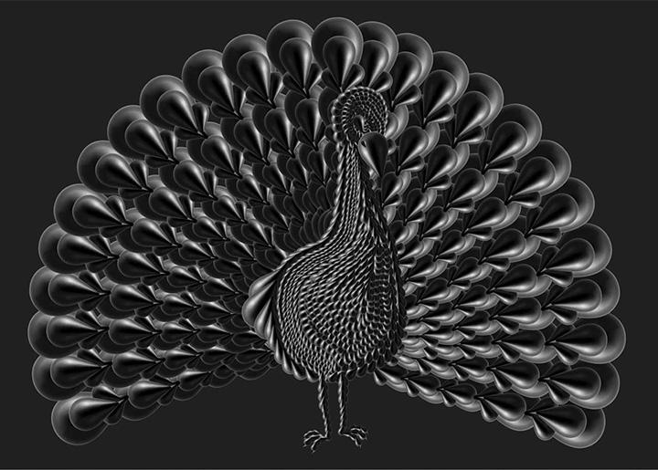 Normann Copenhagen Dropit Peacock