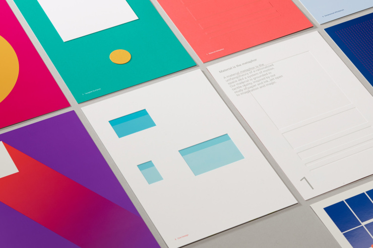 Google Material Design kit by Manual