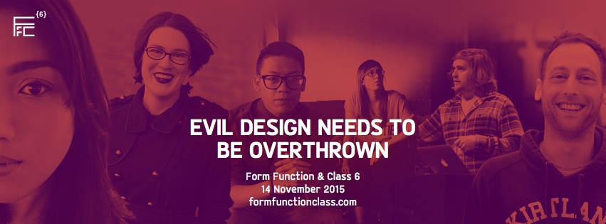 Form Function & Class 6 web design conference