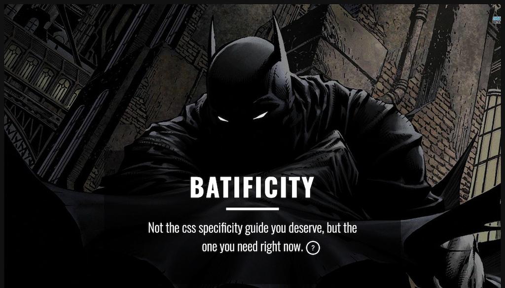Batificity