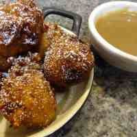 Baked Sunday Mornings: Bananas Foster Fritters