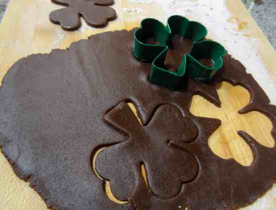 Chocolate Shamrocks 4