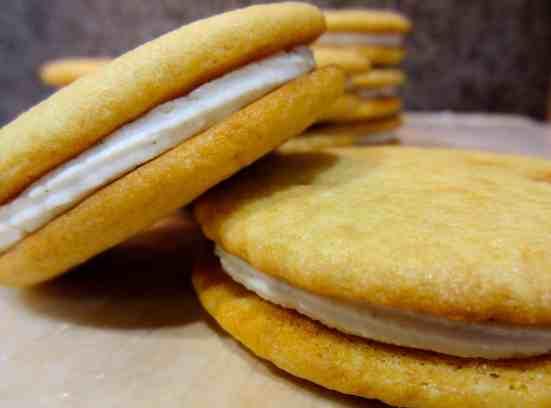 Malted Milk Sandwich Cookies 12