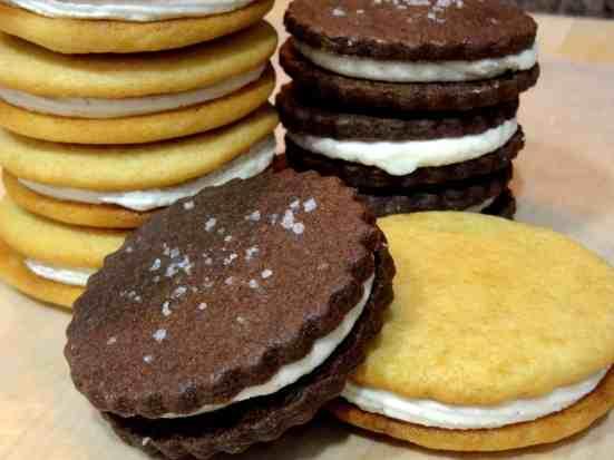 Malted Milk Sandwich Cookies 2