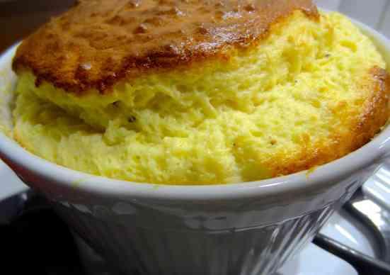 Cheddar Corn Souffle