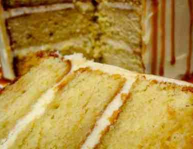 Antique Caramel Cake - 45
