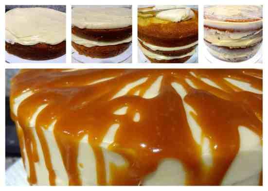 Antique Caramel Cake - 52