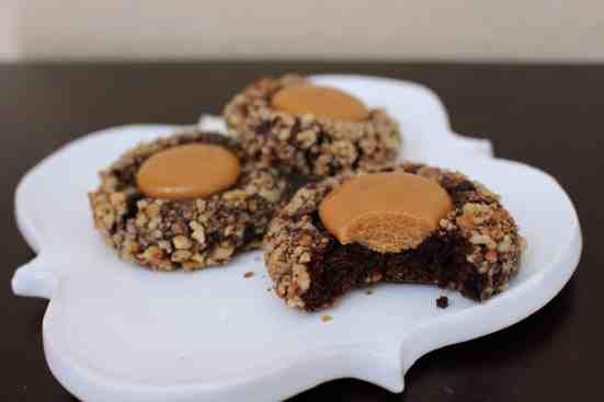 Turtle Thumbprint Cookies - 20