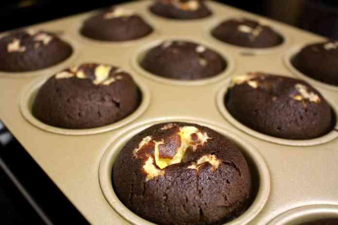 Chocolate Cheesecake Muffins - 11
