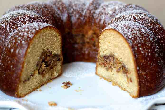 Toffee Coffee Cake Surprise - 24