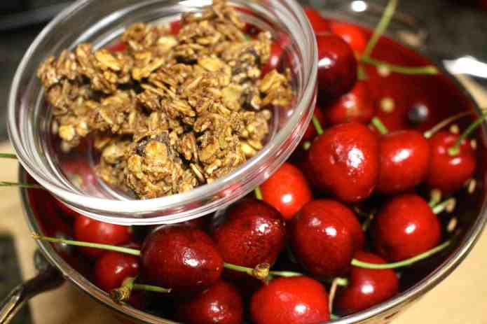 Cherry Almond Vanilla Crisp - 01