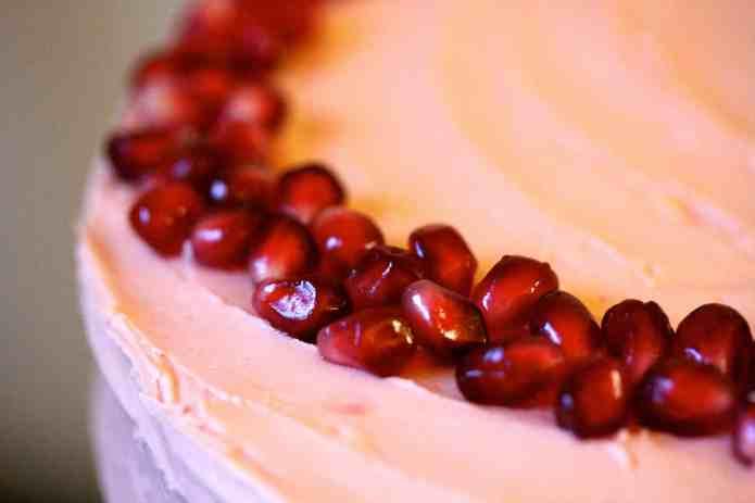 Vanilla Pomegranate Cake - 27