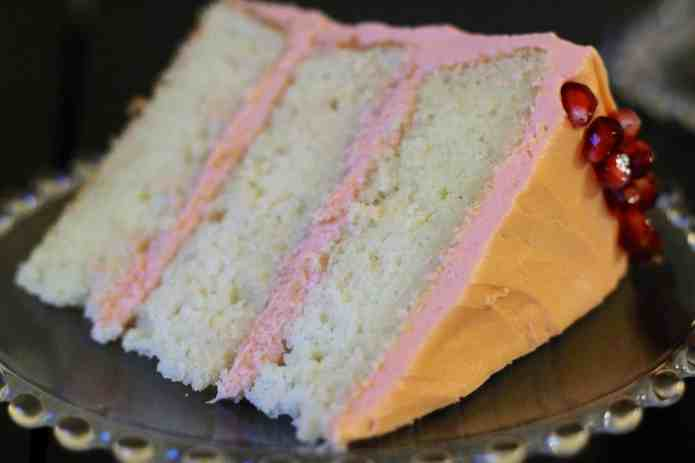 Vanilla Pomegranate Cake - 31